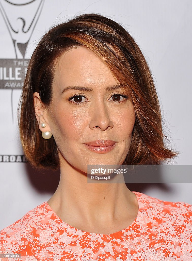 Actress Sarah Paulson attends the 29th Annual Lucille Lortel Awards at NYU Skirball Center on May 4, 2014 in New York City.