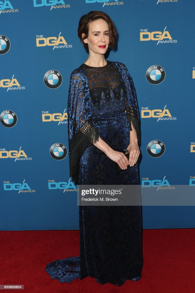 actress-sarah-paulson-attends-the-69th-annual-directors-guild-of-at-picture-id633850854