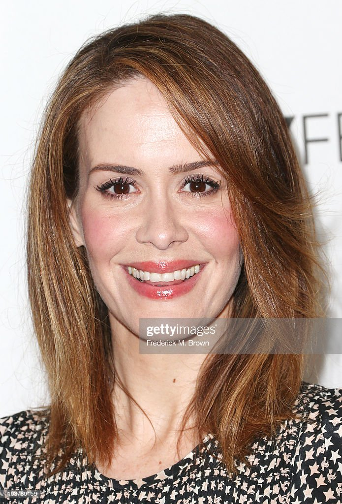 Actress Sarah Paulson attends The Paley Center For Media's PaleyFest 2013 Honoring 'American Horror Story: Asylum' at the Saban Theatre on March 15, 2013 in Beverly Hills, California.