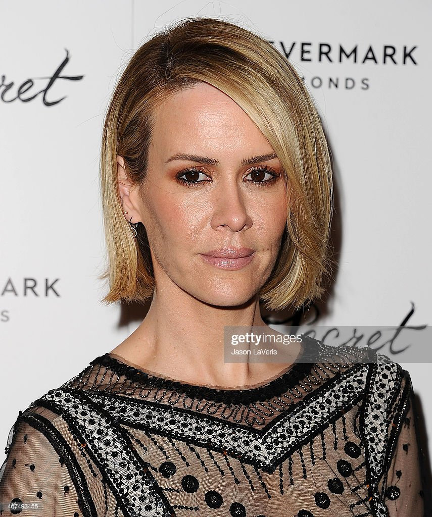 Actress Sarah Paulson attends the premiere of 'In Secret' at ArcLight Hollywood on February 6 2014 in Hollywood California