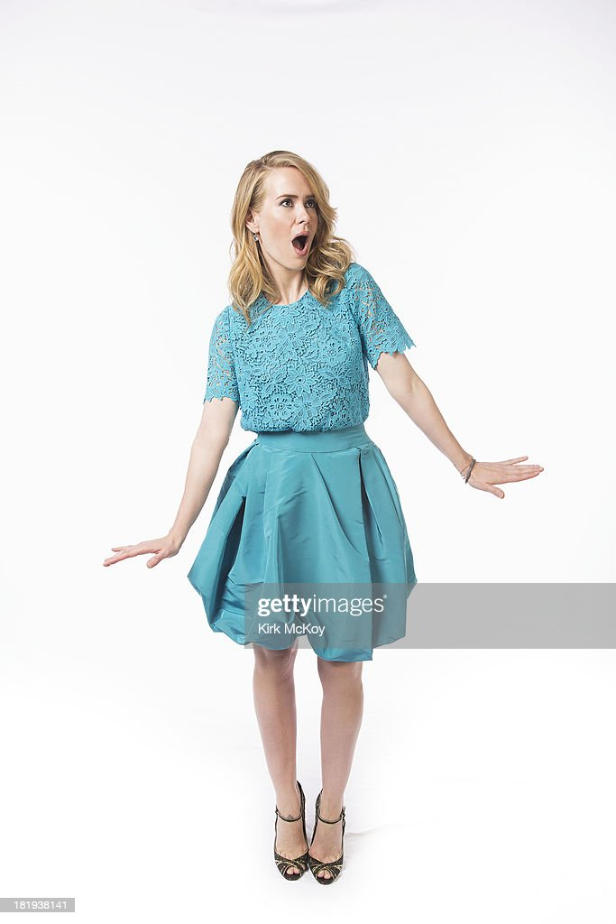 Actress <a gi-track='captionPersonalityLinkClicked' href=/galleries/search?phrase=Sarah+Paulson&family=editorial&specificpeople=220657 ng-click='$event.stopPropagation()'>Sarah Paulson</a> is photographed for Los Angeles Times on September 20, 2013 in Los Angeles, California. PUBLISHED IMAGE.