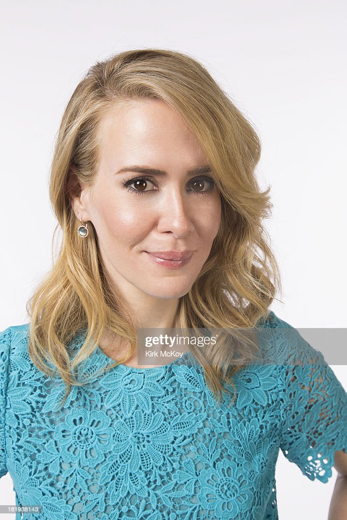 Actress Sarah Paulson is photographed for Los Angeles Times on September 20, 2013 in Los Angeles, California. PUBLISHED IMAGE.