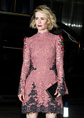 Actress Sarah Paulson is seen arriving at The Museum of Modern Art's 8th Annual Film Benefit honoring Cate Blanchett at The Museum of Modern Art on...