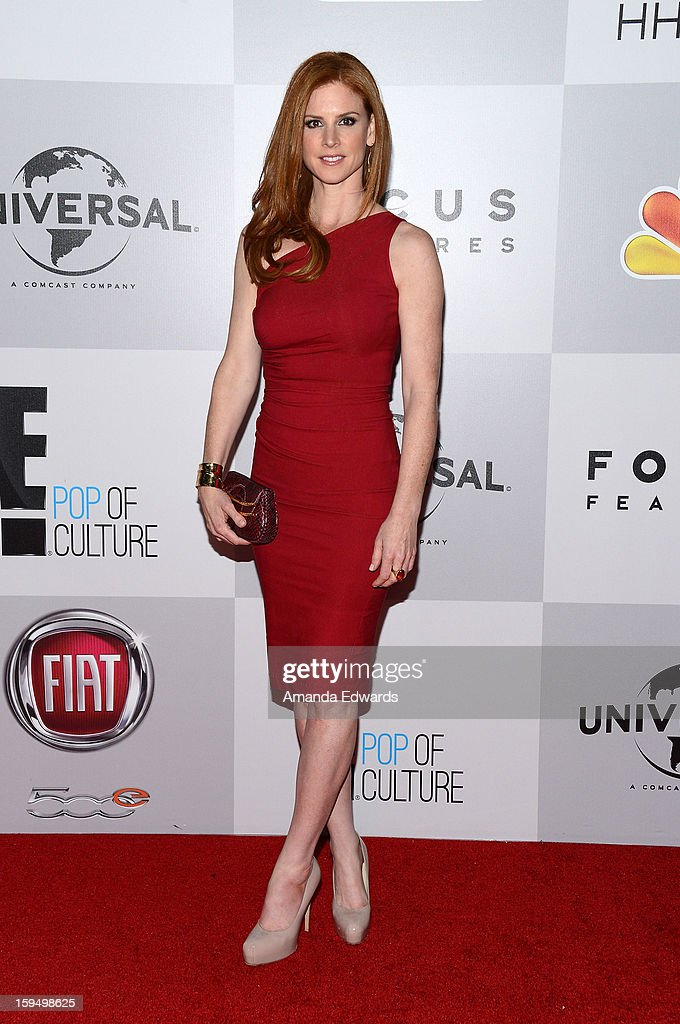 Actress Sarah Rafferty arrives at the NBC Universal's 70th Golden Globes After Party at The Beverly Hilton Hotel on January 13, 2013 in Beverly Hills, California.