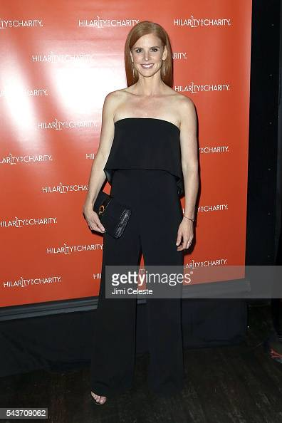 Actress Sarah Rafferty attends Seth and Lauren Rogen's Hilarity for Charity Comes to New York at Highline Ballroom on June 29 2016 in New York City