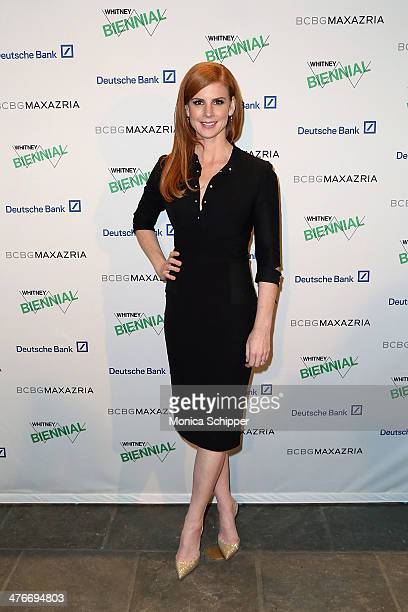Actress Sarah Rafferty attends the 2014 Whitney Biennial Opening Night Party at The Whitney Museum of American Art on March 4 2014 in New York City