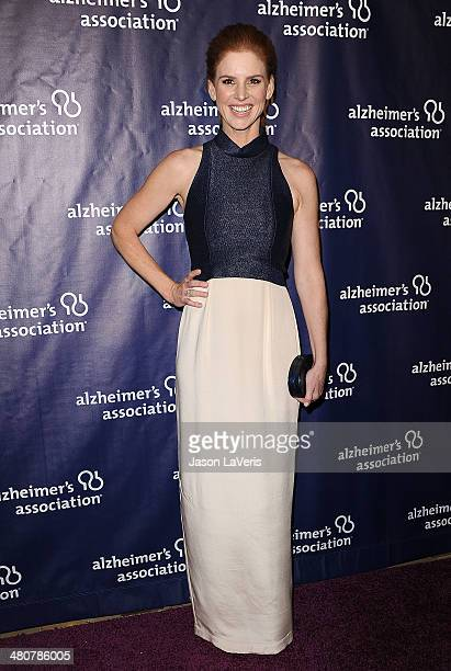 Actress Sarah Rafferty attends the 22nd 'A Night At Sardi's' at The Beverly Hilton Hotel on March 26 2014 in Beverly Hills California