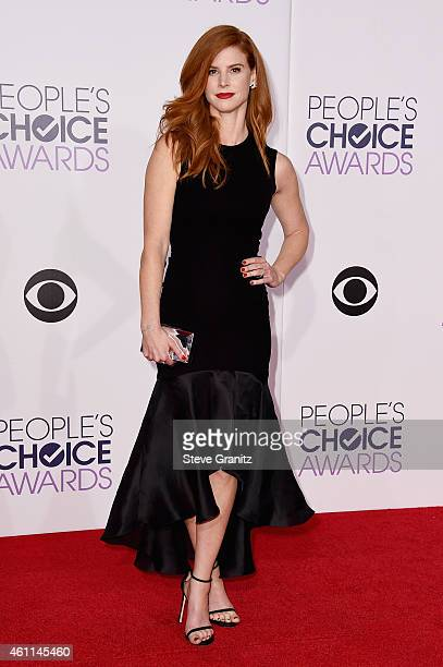 Actress Sarah Rafferty attends The 41st Annual People's Choice Awards at Nokia Theatre LA Live on January 7 2015 in Los Angeles California