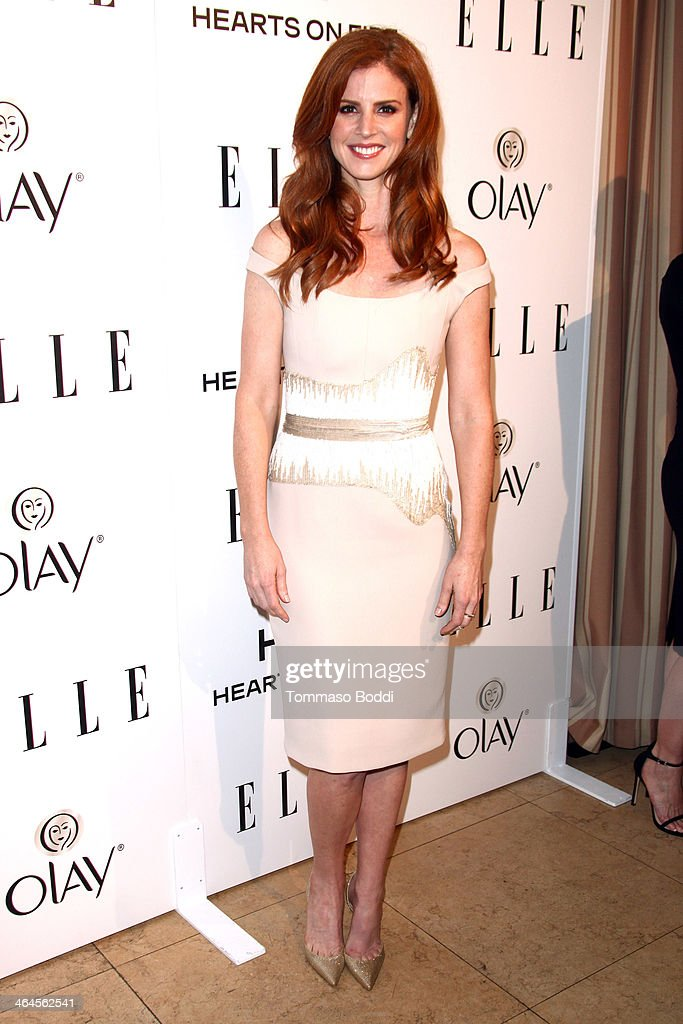 Actress Sarah Rafferty attends the ELLE Women In Television Celebration held at the Sunset Tower on January 22, 2014 in West Hollywood, California.