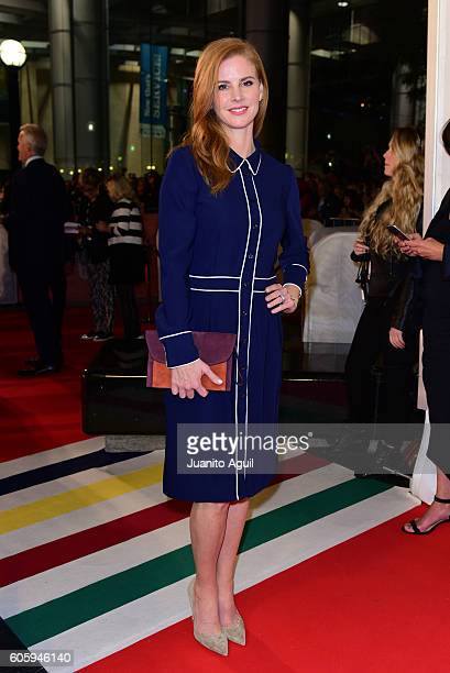 Actress Sarah Rafferty attends the 'LBJ' premiere during the 2016 Toronto International Film Festival at Roy Thomson Hall on September 15 2016 in...