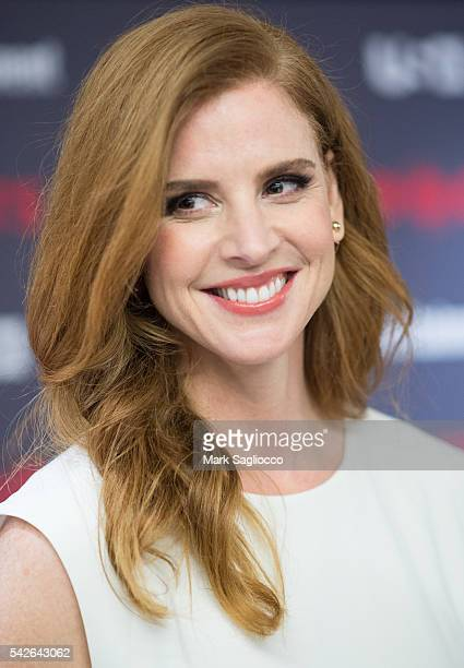 Actress Sarah Rafferty attends the 'Suits' Season 6 Screening Panel at Entertainment Weekly Screening Room on June 23 2016 in New York City
