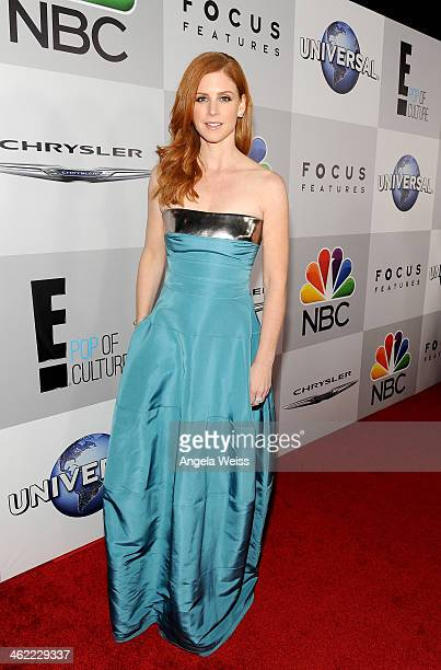 Actress Sarah Rafferty attends the Universal NBC Focus Features E sponsored by Chrysler viewing and after party with Gold Meets Golden held at The...