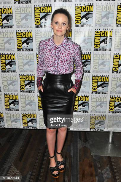 Actress Sarah Ramos attends the 'Midnight Texas' press line at Comic Con 2017 Day 3 on July 22 2017 in San Diego California
