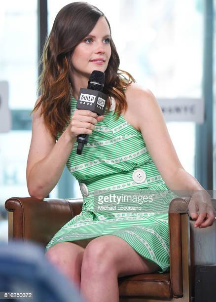 Actress Sarah Ramos visits the Build Series to discuss the new TV series 'Midnight Texas' at Build Studio on July 17 2017 in New York City