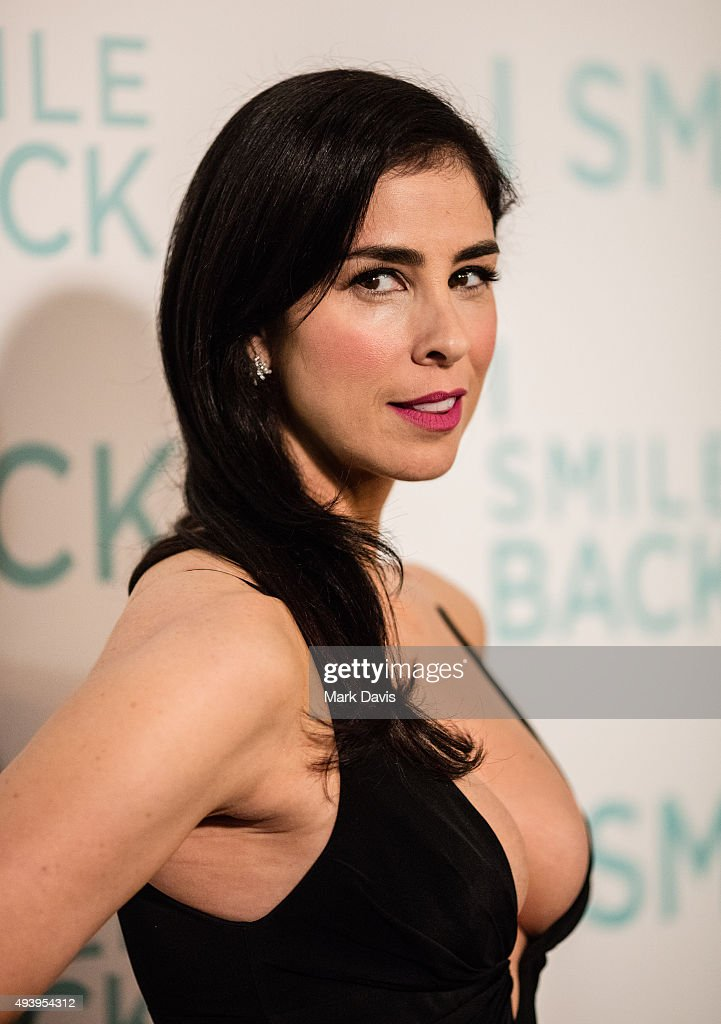 Actress <a gi-track='captionPersonalityLinkClicked' href=/galleries/search?phrase=Sarah+Silverman&family=editorial&specificpeople=241299 ng-click='$event.stopPropagation()'>Sarah Silverman</a> arrives at the premiere of Broad Green Pictures' 'I Smile Back' at ArcLight Cinemas on October 21, 2015 in Hollywood, California.