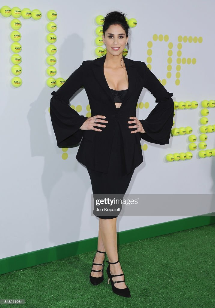 Actress Sarah Silverman arrives at the Premiere Of Fox Searchlight Pictures' 'Battle Of The Sexes' at Regency Village Theatre on September 16, 2017 in Westwood, California.