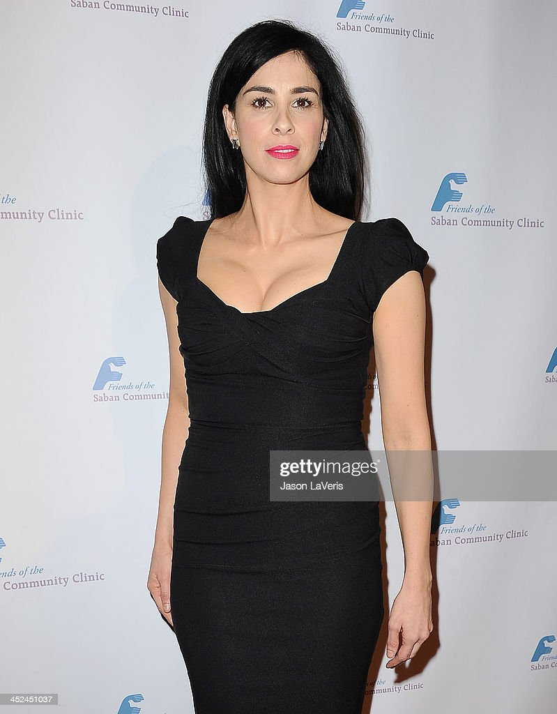 Actress <a gi-track='captionPersonalityLinkClicked' href=/galleries/search?phrase=Sarah+Silverman&family=editorial&specificpeople=241299 ng-click='$event.stopPropagation()'>Sarah Silverman</a> attends Saban Community Clinic's 37th annual benefit gala at The Beverly Hilton Hotel on November 25, 2013 in Beverly Hills, California.