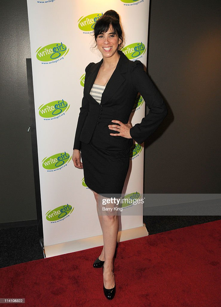 Actress Sarah Silverman attends the 2011 Bold Ink Awards held at the Writers Guild Theater on May 11 2011 in Beverly Hills California