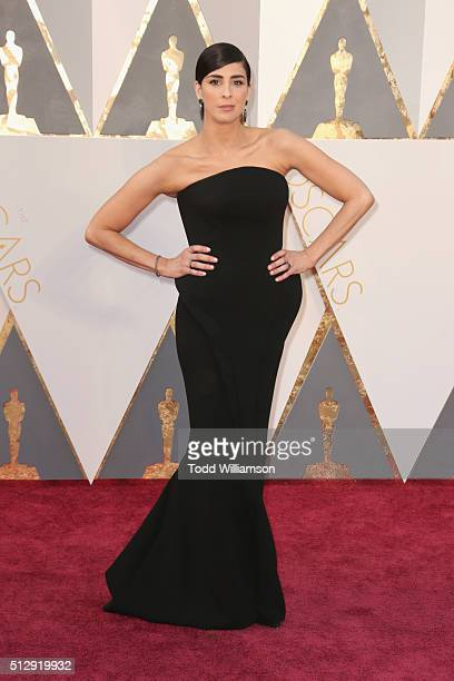 Actress Sarah Silverman attends the 88th Annual Academy Awards at Hollywood Highland Center on February 28 2016 in Hollywood California