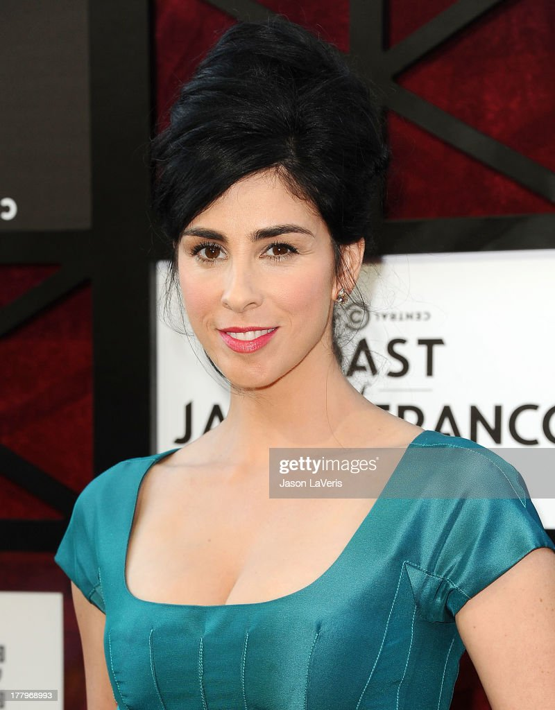 Actress <a gi-track='captionPersonalityLinkClicked' href=/galleries/search?phrase=Sarah+Silverman&family=editorial&specificpeople=241299 ng-click='$event.stopPropagation()'>Sarah Silverman</a> attends the Comedy Central Roast of James Franco at Culver Studios on August 25, 2013 in Culver City, California.