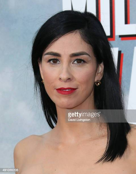 Actress Sarah Silverman attends the premiere of Universal Pictures and MRC's 'A Million Ways to Die in the West' at the Regency Village Theatre on...