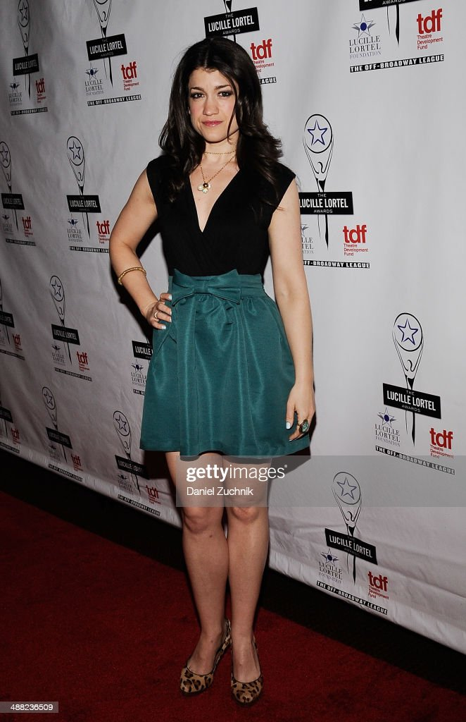 Actress <a gi-track='captionPersonalityLinkClicked' href=/galleries/search?phrase=Sarah+Stiles&family=editorial&specificpeople=4878801 ng-click='$event.stopPropagation()'>Sarah Stiles</a> attends the 29th Annual Lucille Lortel Awards at NYU Skirball Center on May 4, 2014 in New York City.