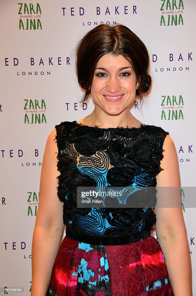 Actress Sarah Stiles attends the Zara Aina Foundation Benefit at Ted Baker on April 22, 2013 in New York City.