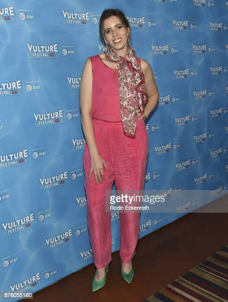 Actress Sarah Violet attends the 'Search Party' scavenger hunt at Vulture Festival Los Angeles at Hollywood Roosevelt Hotel on November 18 2017 in...
