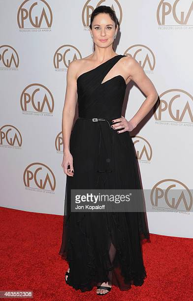 Actress Sarah Wayne Callies arrives at the 26th Annual PGA Awards at the Hyatt Regency Century Plaza on January 24 2015 in Los Angeles California