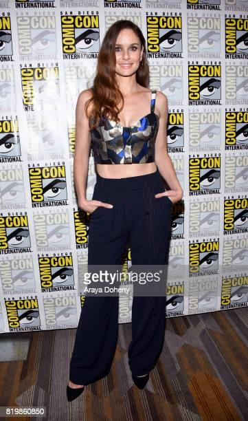Actress Sarah Wayne Callies at the 'Colony' press line during ComicCon International 2017 at Hilton Bayfront on July 20 2017 in San Diego California