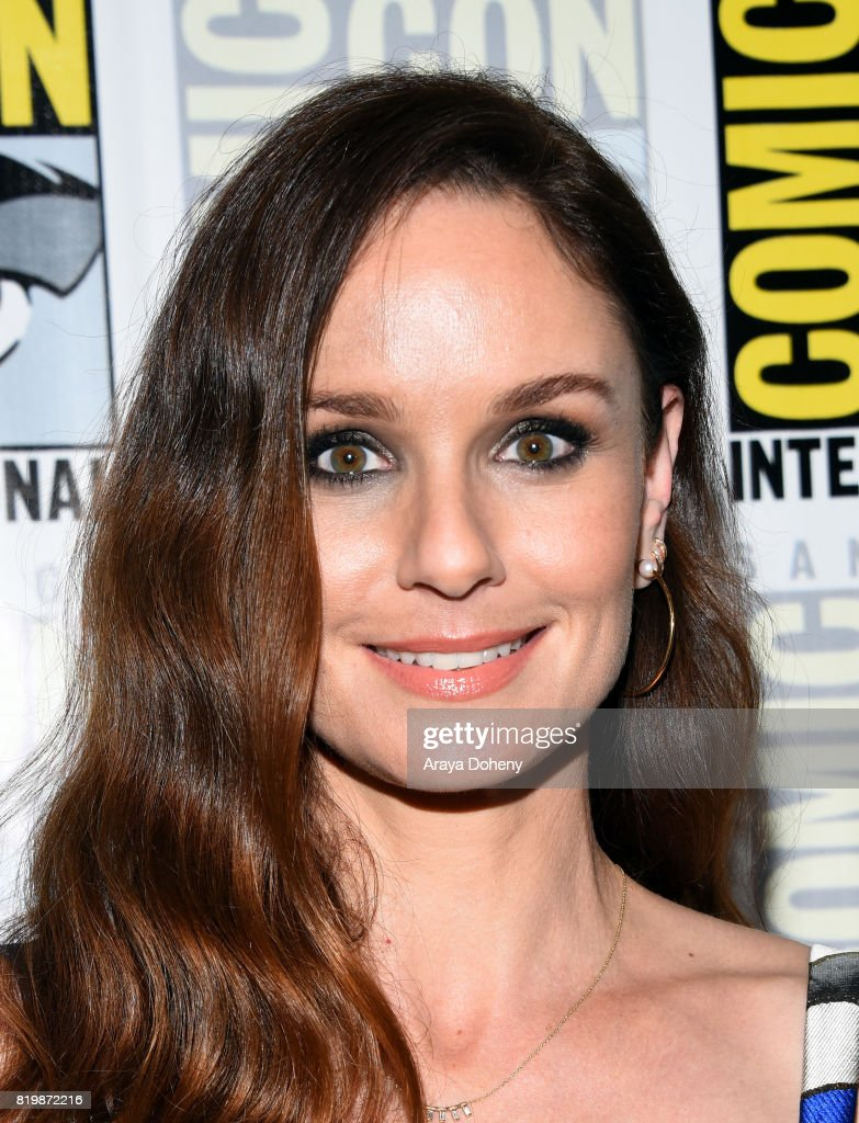 Actress Sarah Wayne Callies at the 'Colony' press line during Comic-Con International 2017 at Hilton Bayfront on July 20, 2017 in San Diego, California.