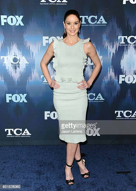 Actress Sarah Wayne Callies attends the 2017 FOX AllStar Party at Langham Hotel on January 11 2017 in Pasadena California