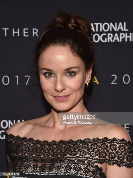 Actress Sarah Wayne Callies attends the 2017 Summer TCA Tour National Geographic Party at The Waldorf Astoria Beverly Hills on July 24 2017 in...