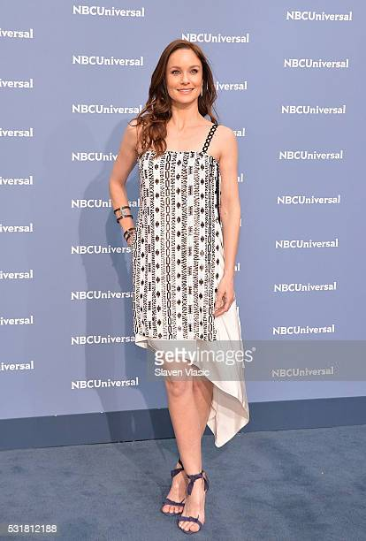 Actress Sarah Wayne Callies attends the NBCUniversal 2016 Upfront Presentation on May 16 2016 in New York New York