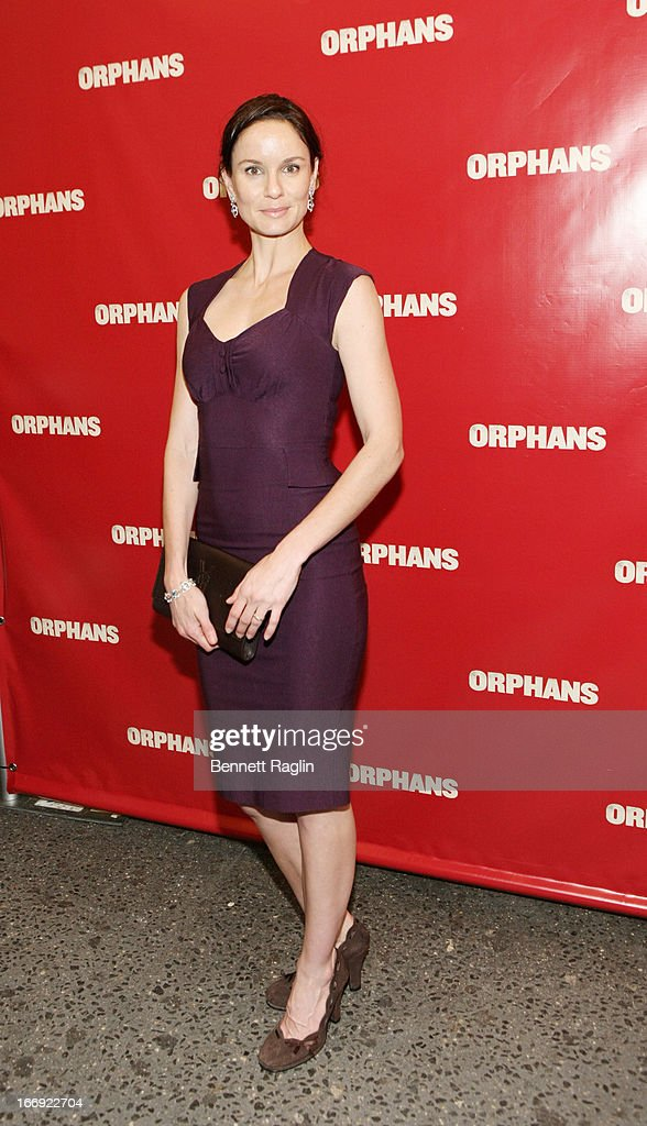 Actress Sarah Wayne Callies attends the 'Orphans' Broadway Opening Night at the Gerald Schoenfeld Theatre on April 18, 2013 in New York City.