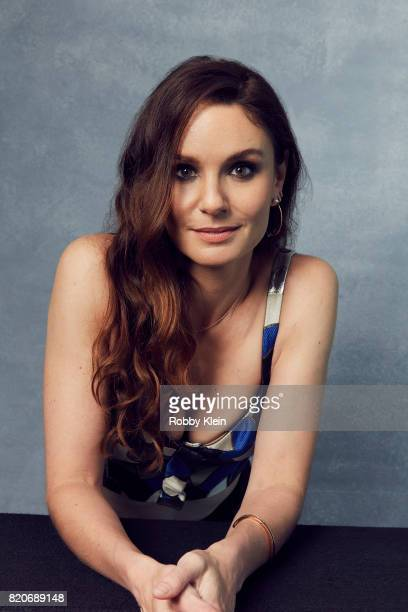 Actress Sarah Wayne Callies of USA Network's 'Colony' poses for a portrait during ComicCon 2017 at Hard Rock Hotel San Diego on July 20 2017 in San...