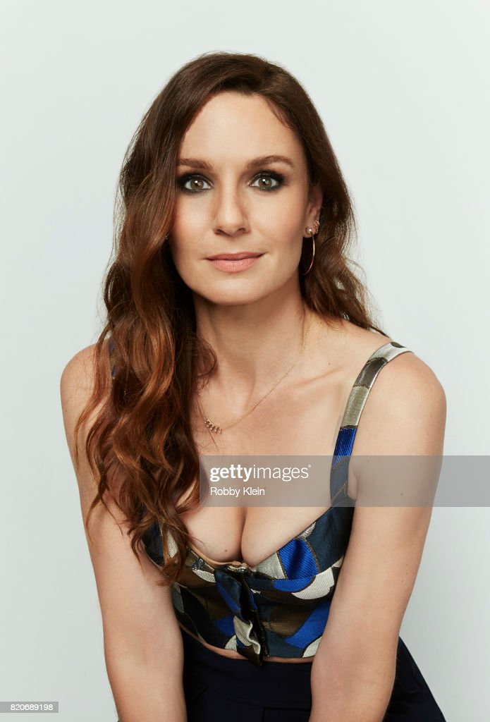 Actress Sarah Wayne Callies of USA Network's 'Colony' poses for a portrait during Comic-Con 2017 at Hard Rock Hotel San Diego on July 20, 2017 in San Diego, California.