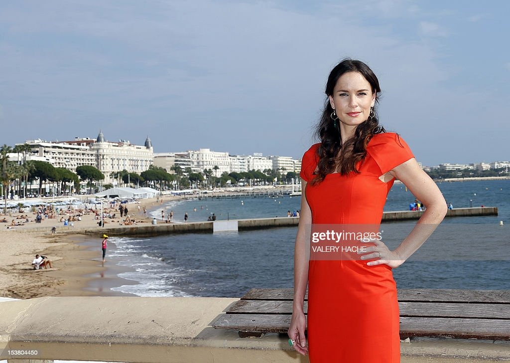 US actress Sarah Wayne Callies poses during a photocall for the TV show 'The Walking Dead' as part of the Mipcom international audiovisual trade show at the Palais des Festivals, in Cannes, southeastern France, on October 9, 2012.