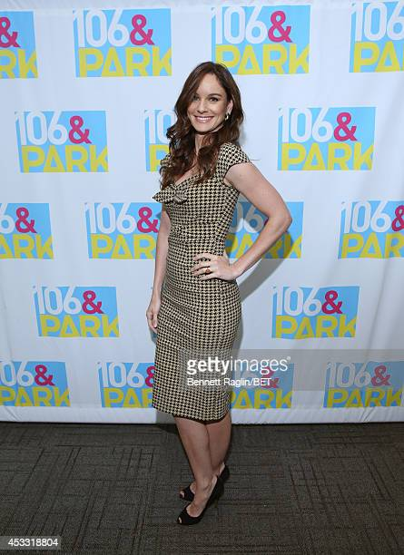 Actress Sarah Wayne Callies visits 106 Park at BET studio on August 6 2014 in New York City
