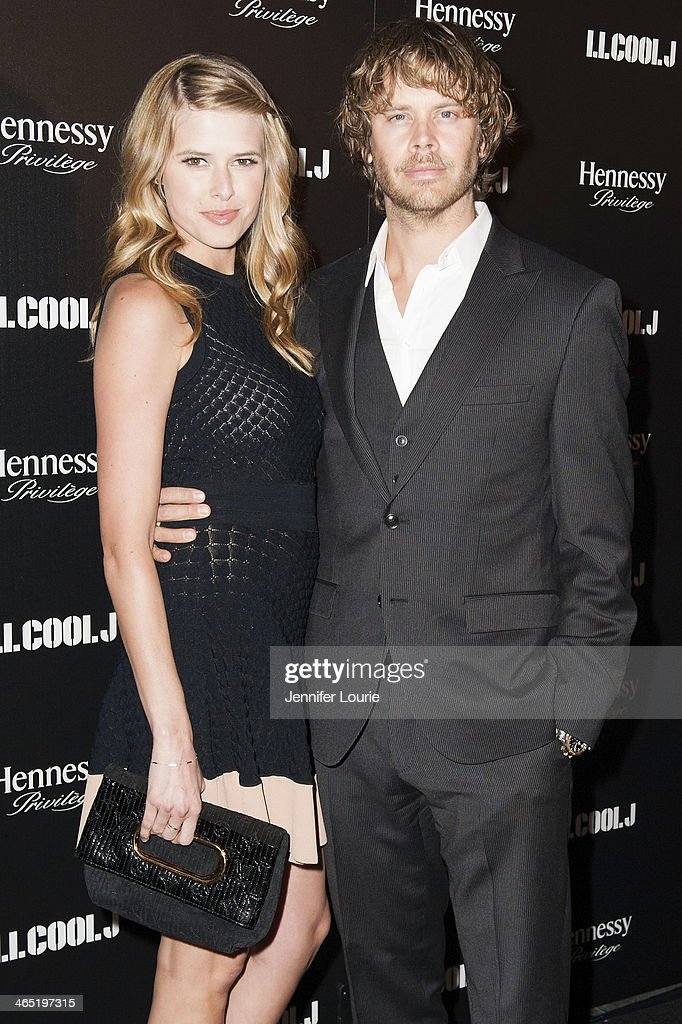 Actress Sarah Wright and actor Eric Christian Olsen attend LL Cool J's third annual PreGrammy Awards Dinner at The Bazaar at the SLS Hotel Beverly...