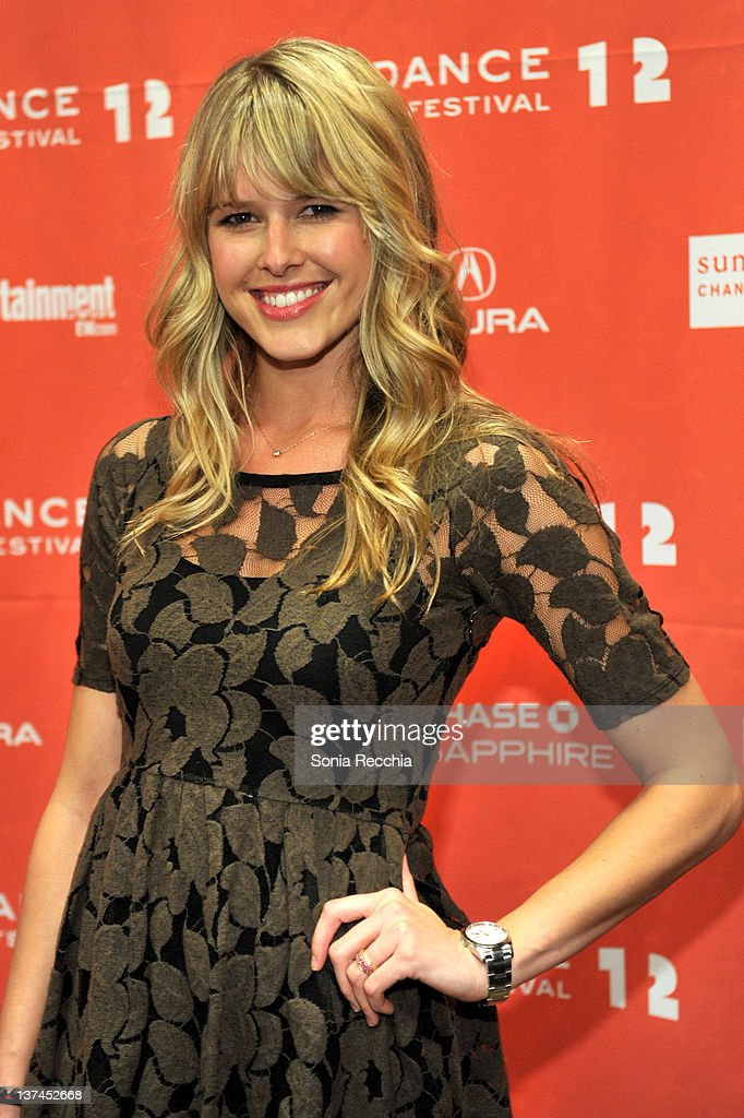 Actress Sarah Wright arrives at 'Celeste And Jesse Forever' at the Eccles Center Theatre during the 2012 Sundance Film Festival on January 20 2012 in...