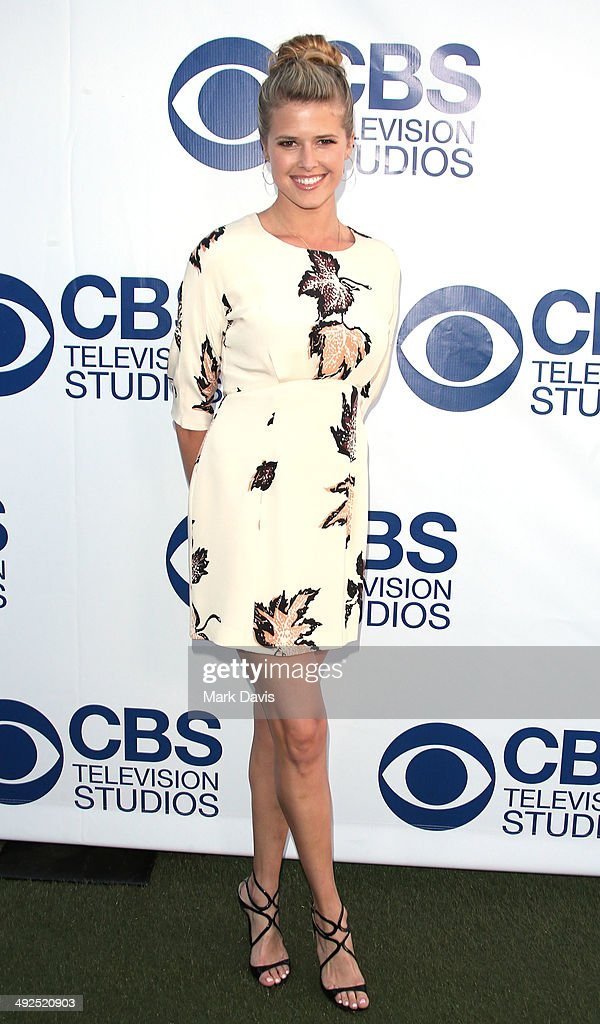 Actress Sarah Wright attends the 'CBS Summer Soiree' held at The London West Hollywood on May 19 2014 in West Hollywood California