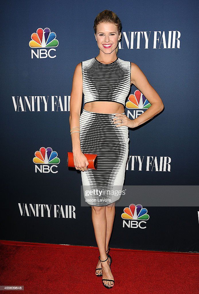 Actress Sarah Wright attends the NBC Vanity Fair 2014 2015 TV season event at HYDE Sunset Kitchen Cocktails on September 16 2014 in West Hollywood...