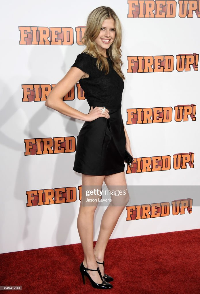 Actress Sarah Wright attends the premiere of 'Fired Up' at Pacific Culver Theatre on February 19 2009 in Culver City California
