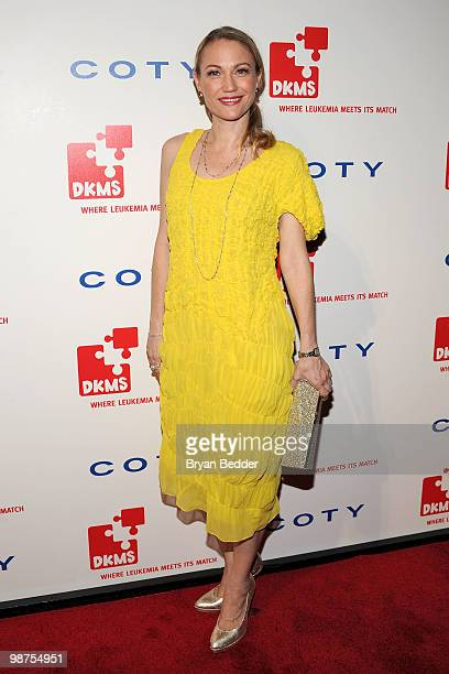 Actress Sarah Wynter attends DKMS' 4th Annual Gala Linked Against Leukemia at Cipriani 42nd Street on April 29 2010 in New York City