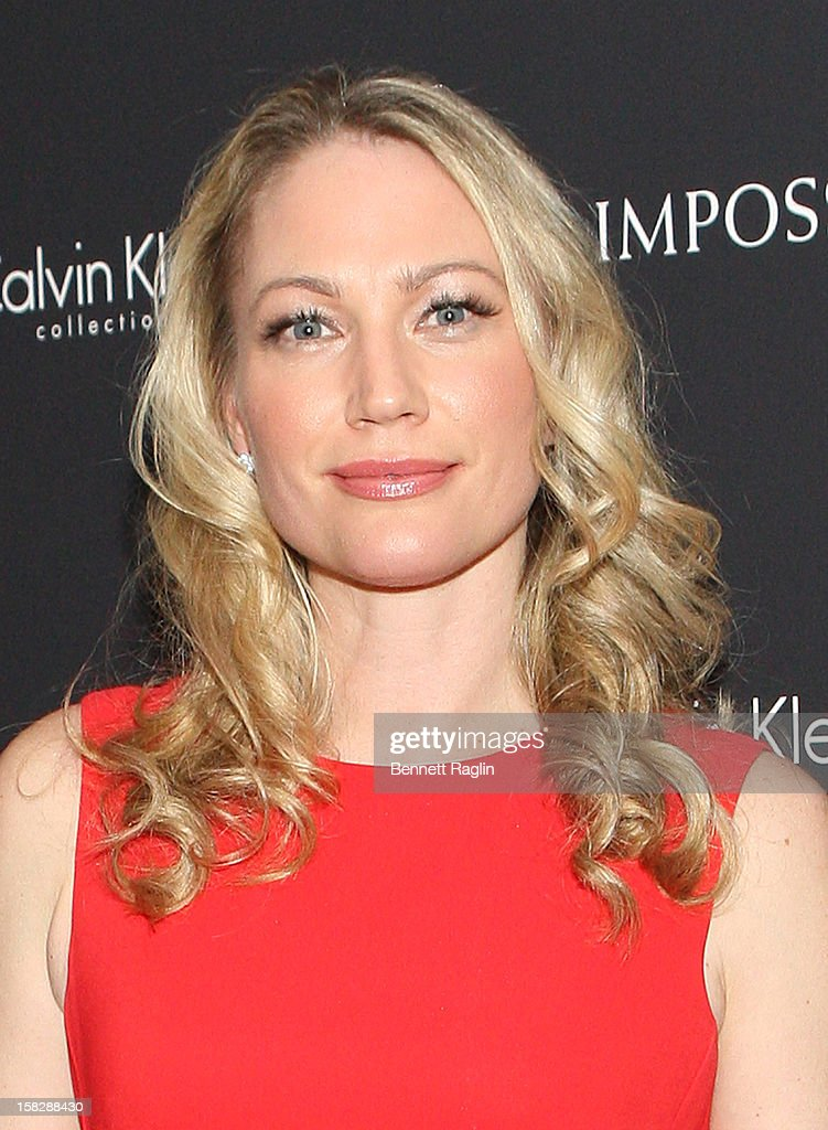 Actress <a gi-track='captionPersonalityLinkClicked' href=/galleries/search?phrase=Sarah+Wynter&family=editorial&specificpeople=204767 ng-click='$event.stopPropagation()'>Sarah Wynter</a> attends 'The Impossible' New York Special Screening at Museum of Art and Design on December 12, 2012 in New York City.