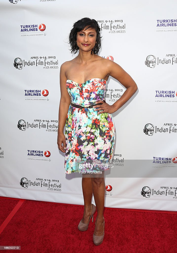 Actress Sarayo Rao attends the Indian Film Festival Of Los Angeles (IFFLA) opening night gala for 'Gangs Of Wasseypur' at ArcLight Cinemas on April 9, 2013 in Hollywood, California.