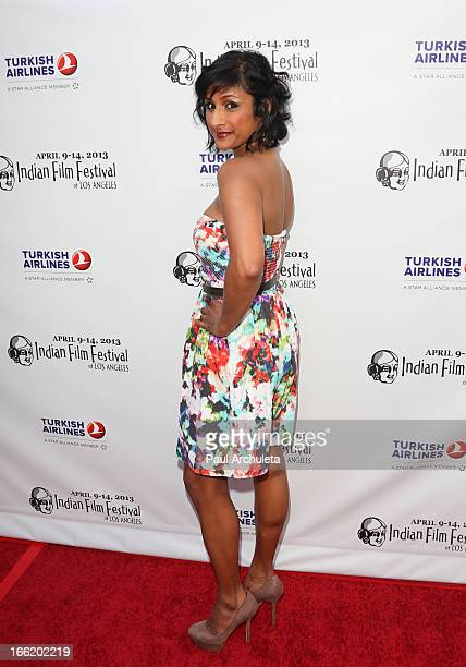 Actress Sarayo Rao attends the Indian Film Festival Of Los Angeles opening night gala for 'Gangs Of Wasseypur' at ArcLight Cinemas on April 9 2013 in...