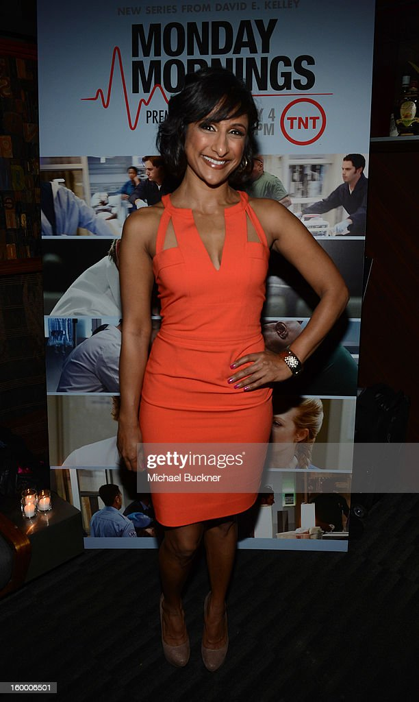 Actress Sarayu Rao attends 'Monday Mornings' Premiere Reception at at BOA Steakhouse on January 24, 2013 in West Hollywood, California. (Photo by Michael Buckner/WireImage) 23200_001_MB_0073.jpg
