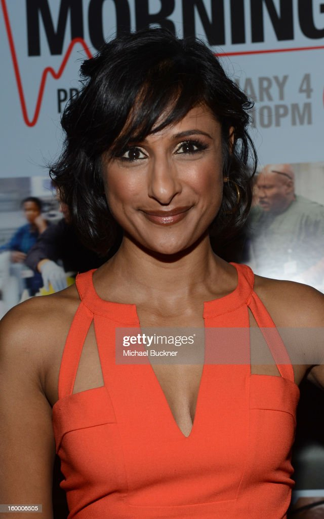 Actress Sarayu Rao attends 'Monday Mornings' Premiere Reception at at BOA Steakhouse on January 24, 2013 in West Hollywood, California. (Photo by Michael Buckner/WireImage) 23200_001_MB_0078.jpg